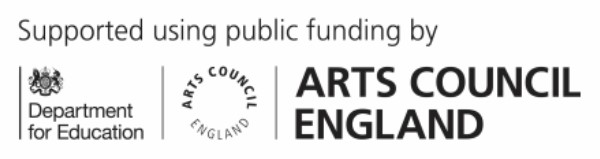 Department for Education Arts Council joint logo