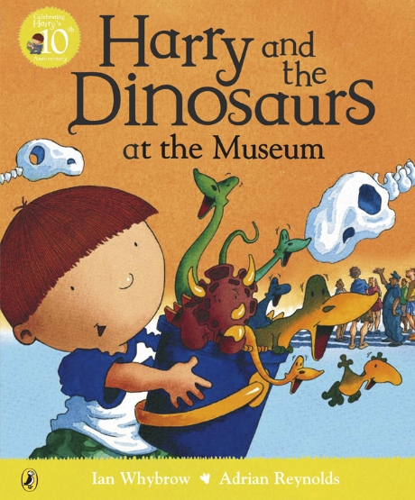Harry and the Dinosaurs book cover