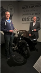 Rare motorbike restored to former glory