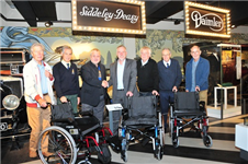 New visitor wheelchair fleet thanks to Coventry Leofric Lions