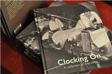 Clocking On book launched
