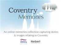 Happy 1st Birthday Coventry Memories Website!