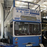 Jump on board the historical Sky Blues Bus!